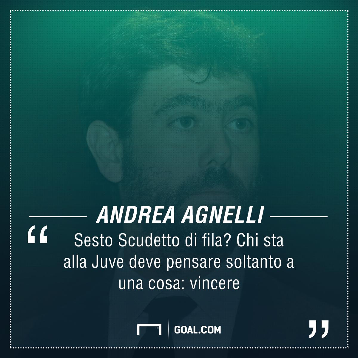 Juve, Agnelli: