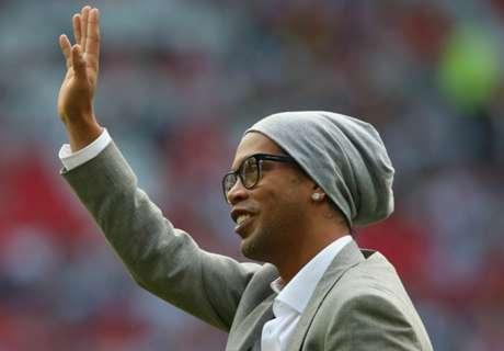Ronaldinho ya faltó al trabajo