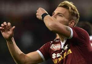 Immobile con la maglia del Torino