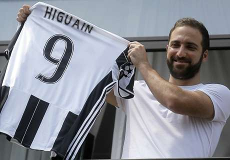 Juve taking risk with 'choker' Higuain