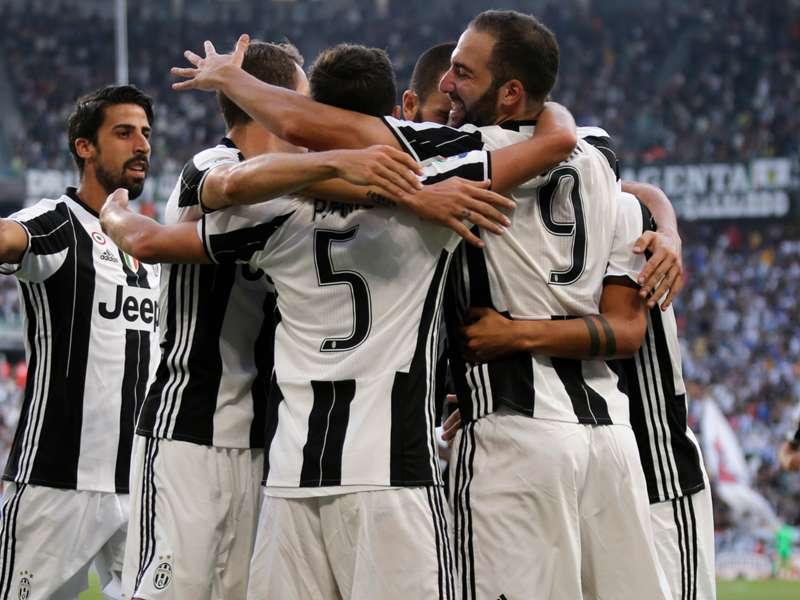A classificação do Campeonato Italiano