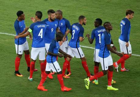 Amistoso: Italia 1-3 Francia
