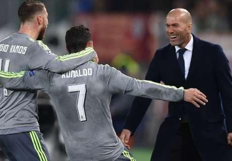 Ramos hails Zidane's leadership