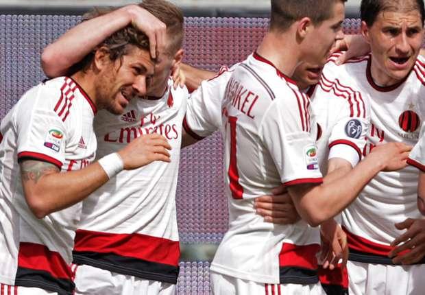 Palermo 1-2 Milan: Menez keeps European hopes alive