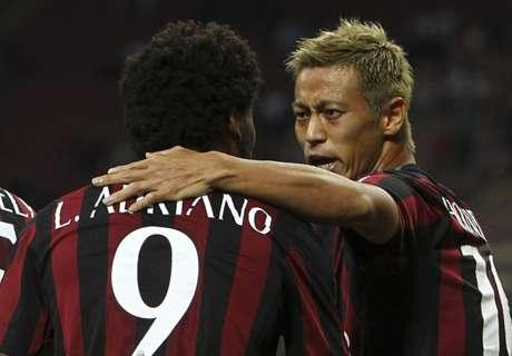 AC Milan 2-0 Perugia: Milan wins cup clash