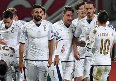 WM-Quali: Immobile rettet Italien