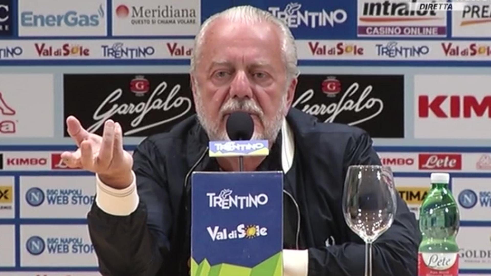 De Laurentiis mette pressione a Higuain