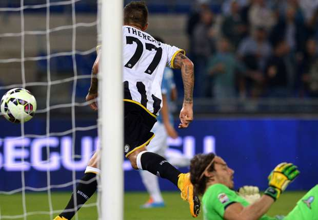 Lazio 0-1 Udinese: Thereau inflicts further misery on Pioli's men