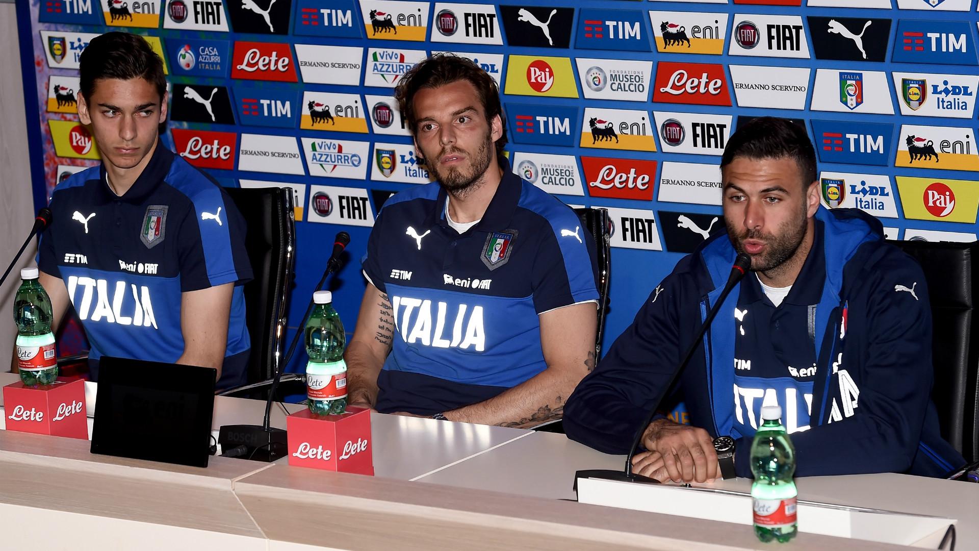 Italia, Marchetti e Sirigu: