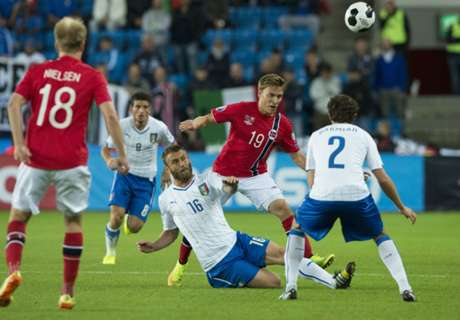 Italia - Noruega, por el primer puesto