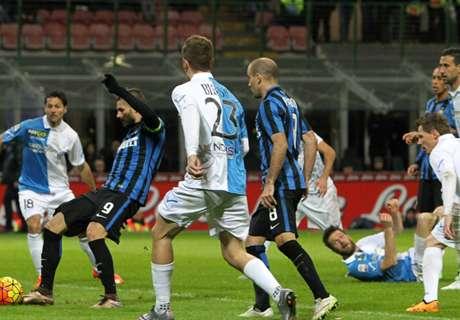 Inter venció a Chievo y se recuperó