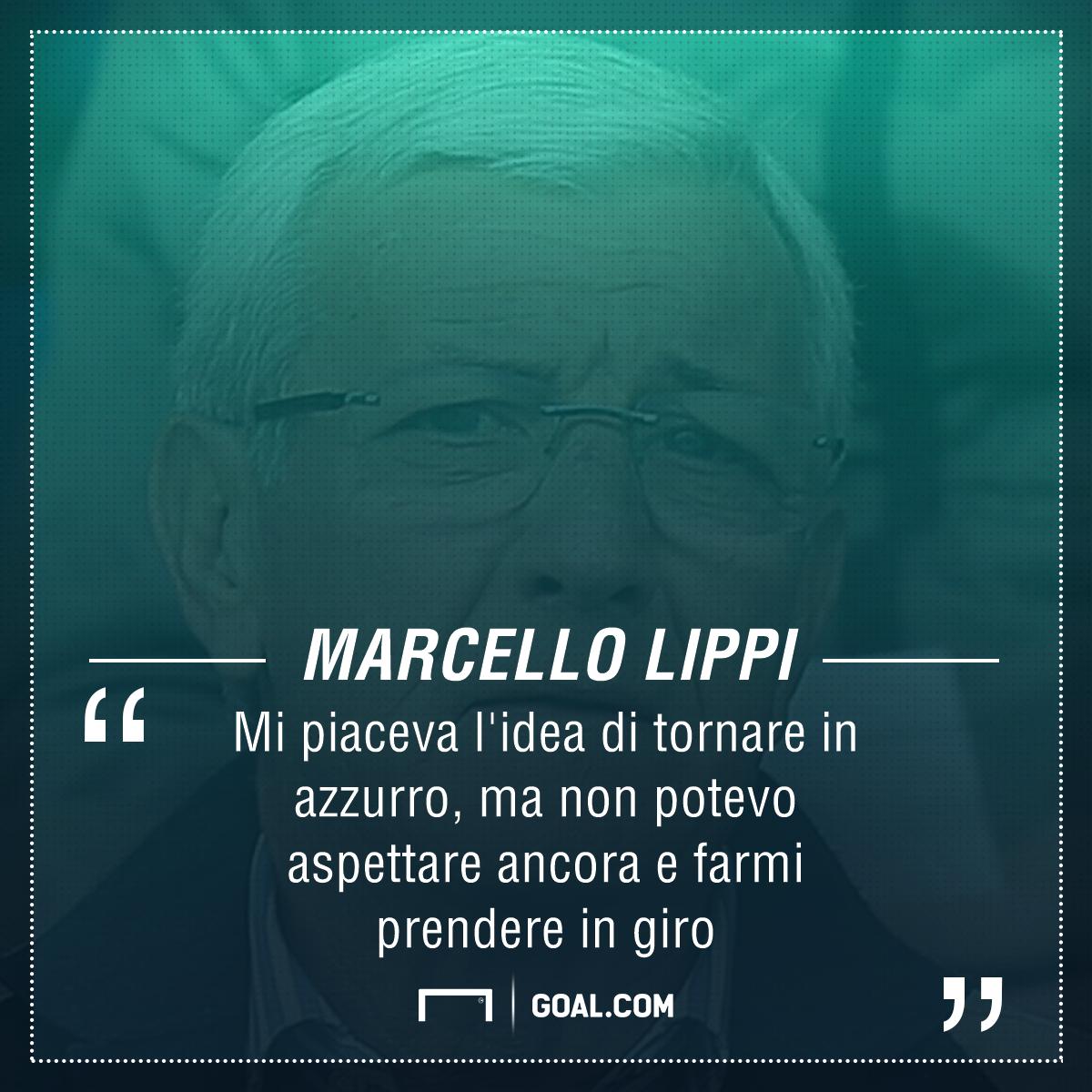 Nazionale, Marcello Lippi rifiuta il ruolo di direttore tecnico