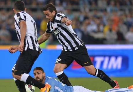 Matri keeps Juve on course for treble