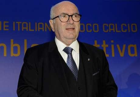 Démission de Tavecchio, le président de la Fédération italienne !