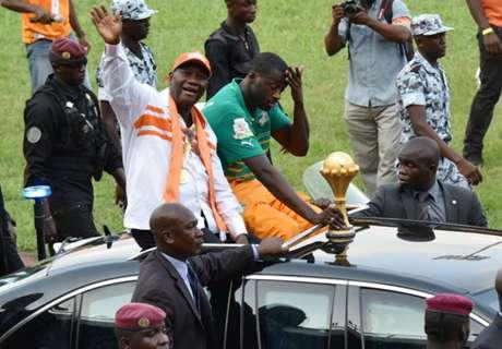 VÍDEO: Costa do Marfim recebe prêmios