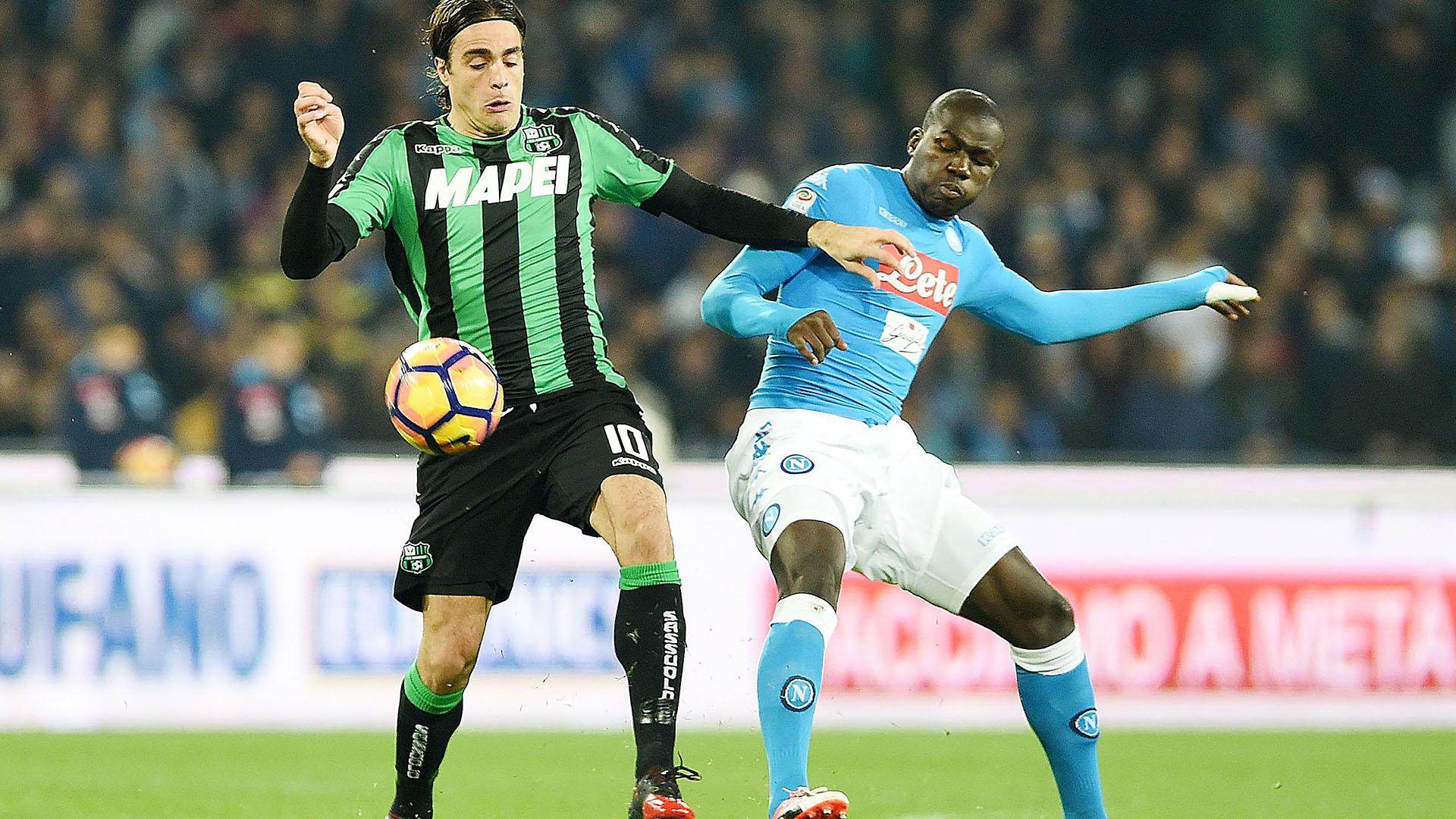 Napoli-Inter, Curva B: