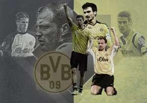 Borussia Dortmund hat eine lange Tradition - geprägt von zahlreichen Spielern. Goal hat die 20 besten der Vereinsgeschichte in einem Ranking zusammengestellt.