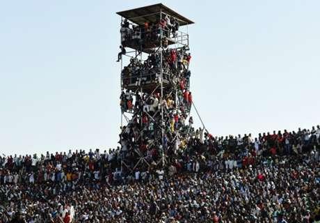 จุ 16,000 เข้า 40,000! ไนจีเรียโดนปรับคนดูเกินความจุตามคาด