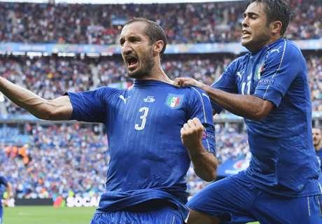 Euro 2016: Italia 2-0 España
