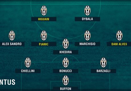 ¿Cómo alinearán los equipos de Serie A?