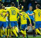 Elim. Euro: Dinamarca 2 x 2 Suécia