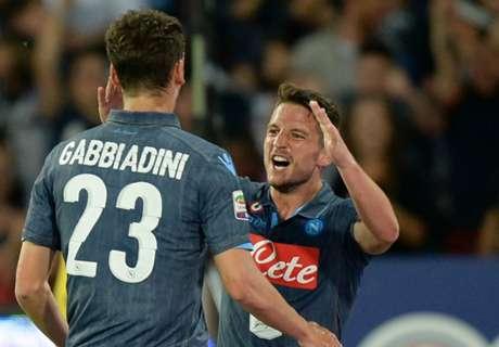 Napoli se acerca a la Champions