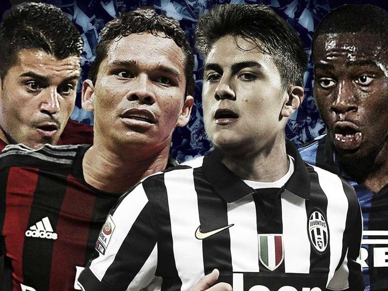 Tabella Calciomercato Serie A 2015: acquisti e cessioni
