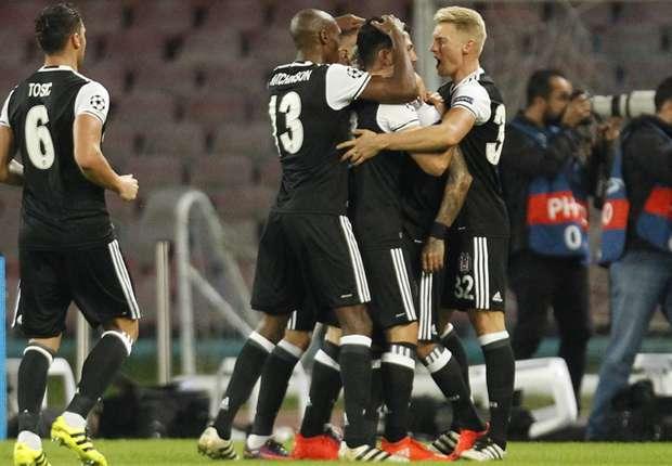 Napoli 2-3 Besiktas: Aboubakar nets double as visitors win it late