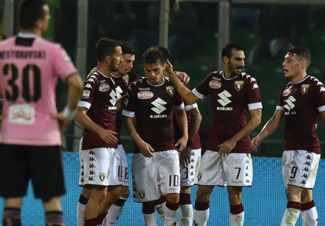 Torino Coreng Partai Ke-1000 Palermo