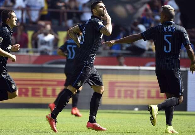 Mauro Icardi erwies sich gegen Sassuolo als treffsicher
