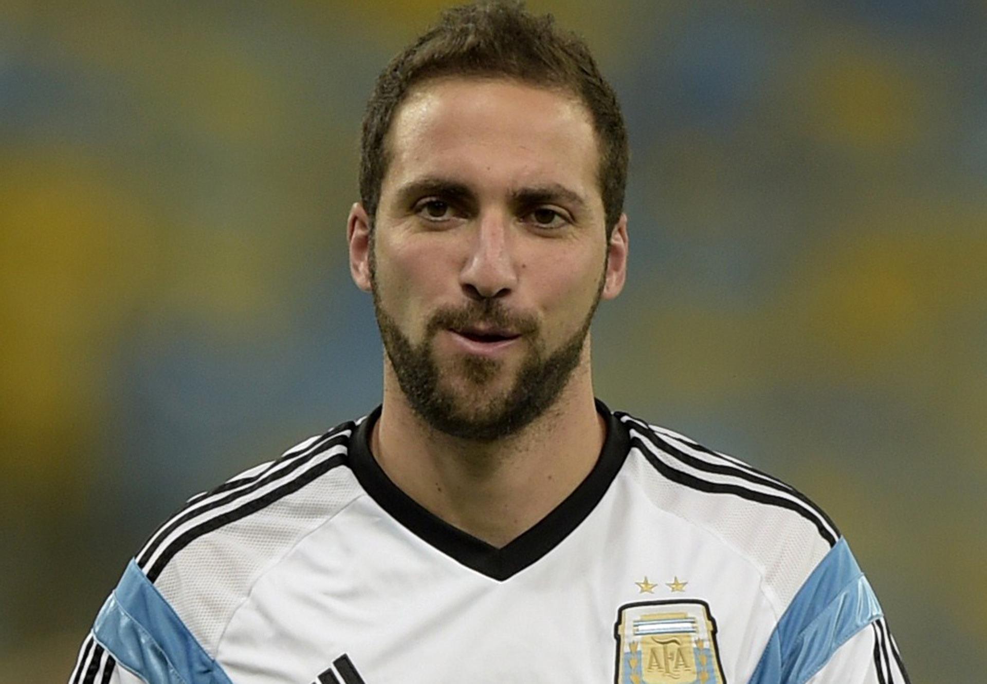 Gonzalo Higuain Argentina - Goal.com