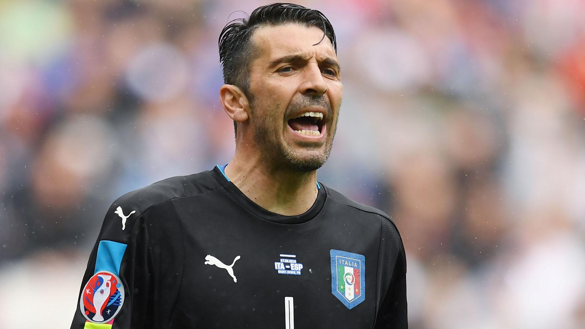 Italia-Spagna, Buffon:
