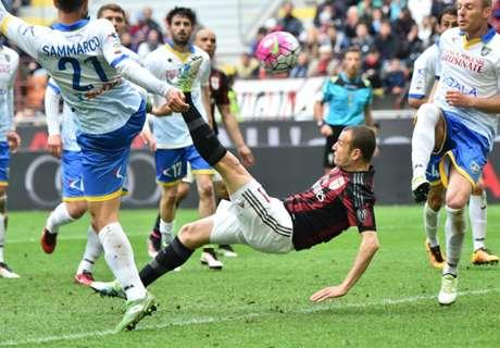 Serie A: AC Milan 3-3 Frosinone