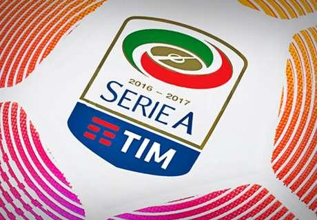 CEDERA & SANKSI Serie A 2016/17