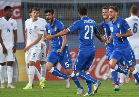 Inghilterra-Italia U21 1-3: E' 3° posto