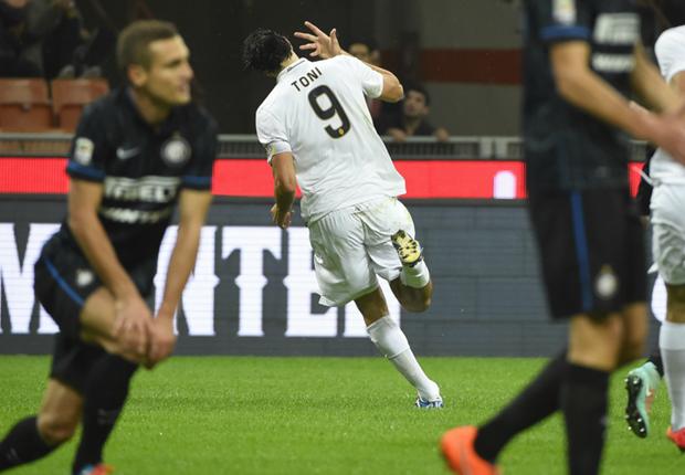 Inter 2-2 Verona: Last-gasp Lopez denies Nerazzurri