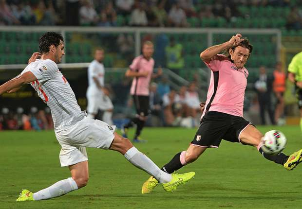 Palermo 1-1 Inter: Kovacic spares Vidic's blushes