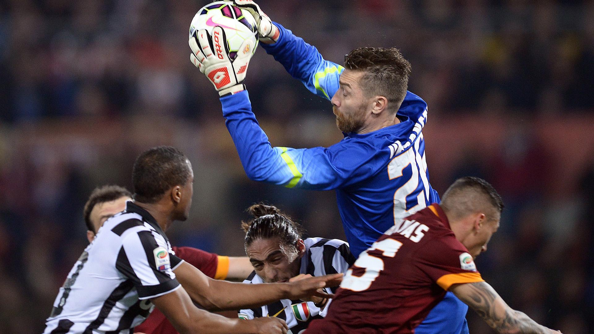 Morgan De Sanctis Roma Juventus Serie A