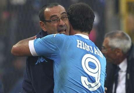 Napoli coach jokingly warns Higuain