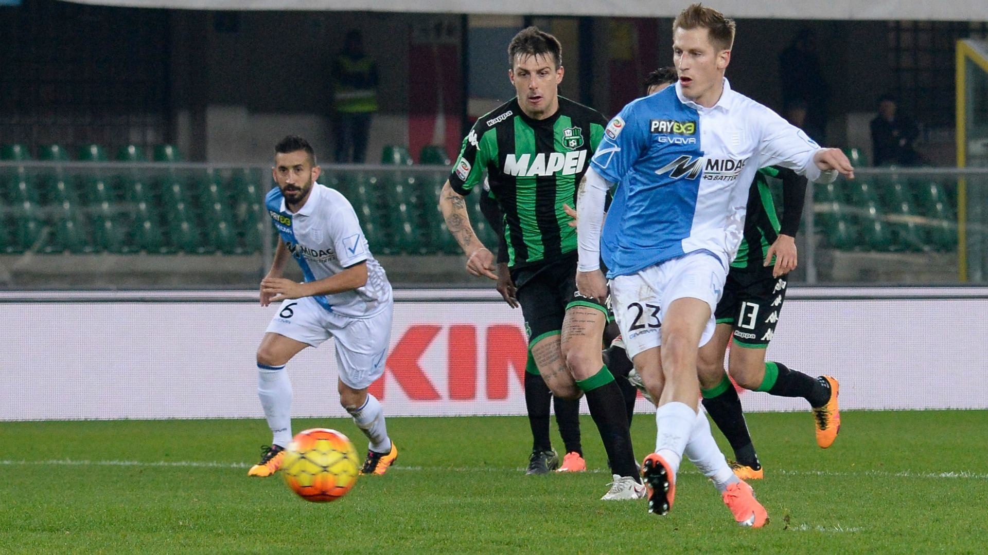 Video: Chievo vs Sassuolo