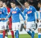 Napoli goleó a Midtjyllan