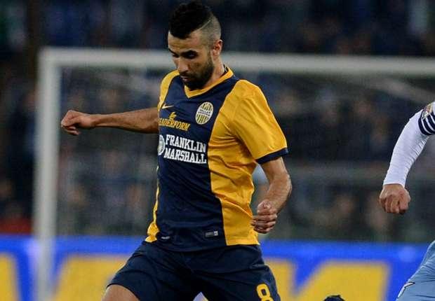 Mounir Obbadi traf in der 89. Minute zum 1:0 für Verona