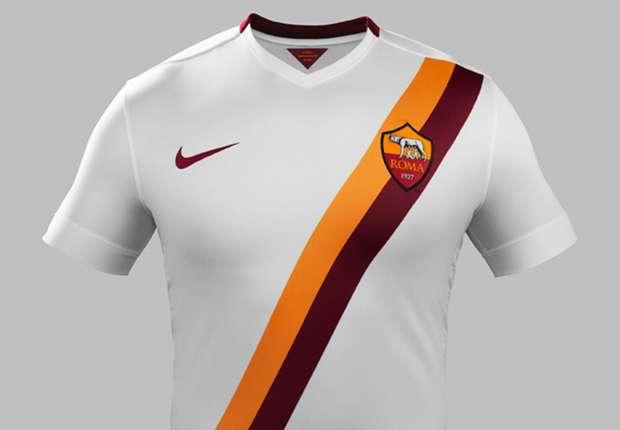 La maglia away della Roma 2014/15