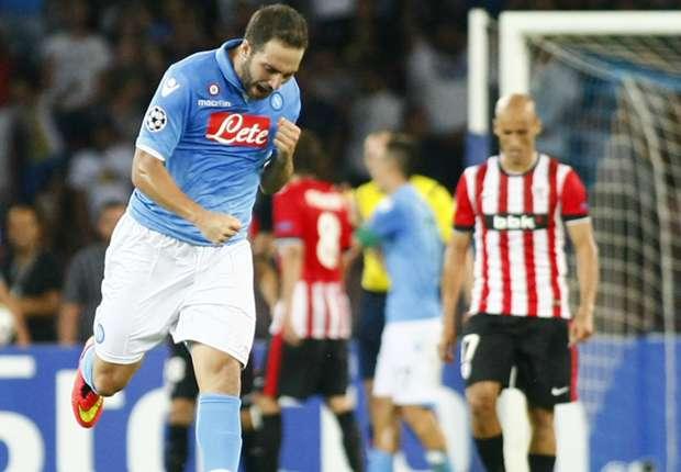 Laporan Pertandingan: Napoli 1-1 Athletic Bilbao