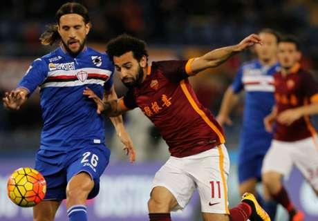 Serie A: Roma 2-1 Sampdoria