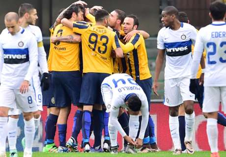 Vérone-Inter 3-3, résumé du match