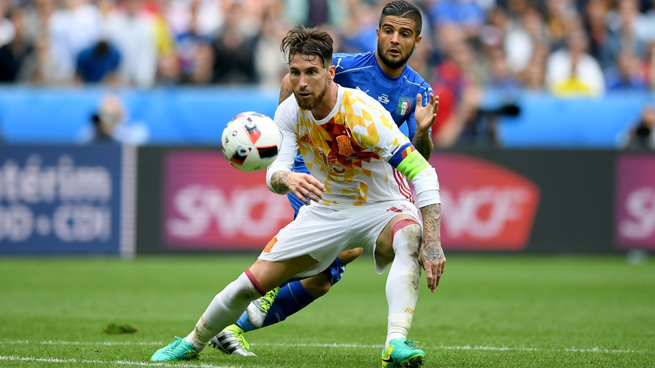 Ramos Insigne Italy Spain Euro 2016