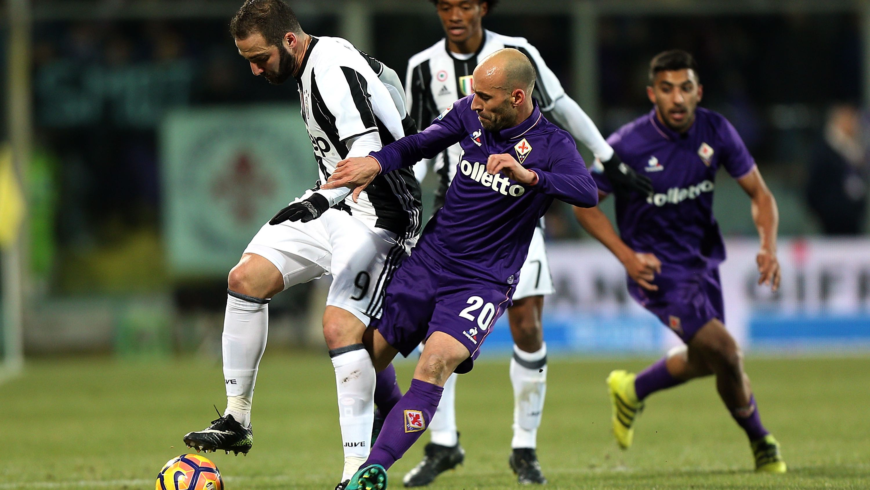 La derrota de la Juve en Florencia (2-1) aprieta el Calcio