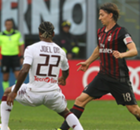Obi on parade in Torino's victory