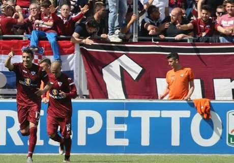 Serie B, 38ª - Pari tra Novara e Perugia
